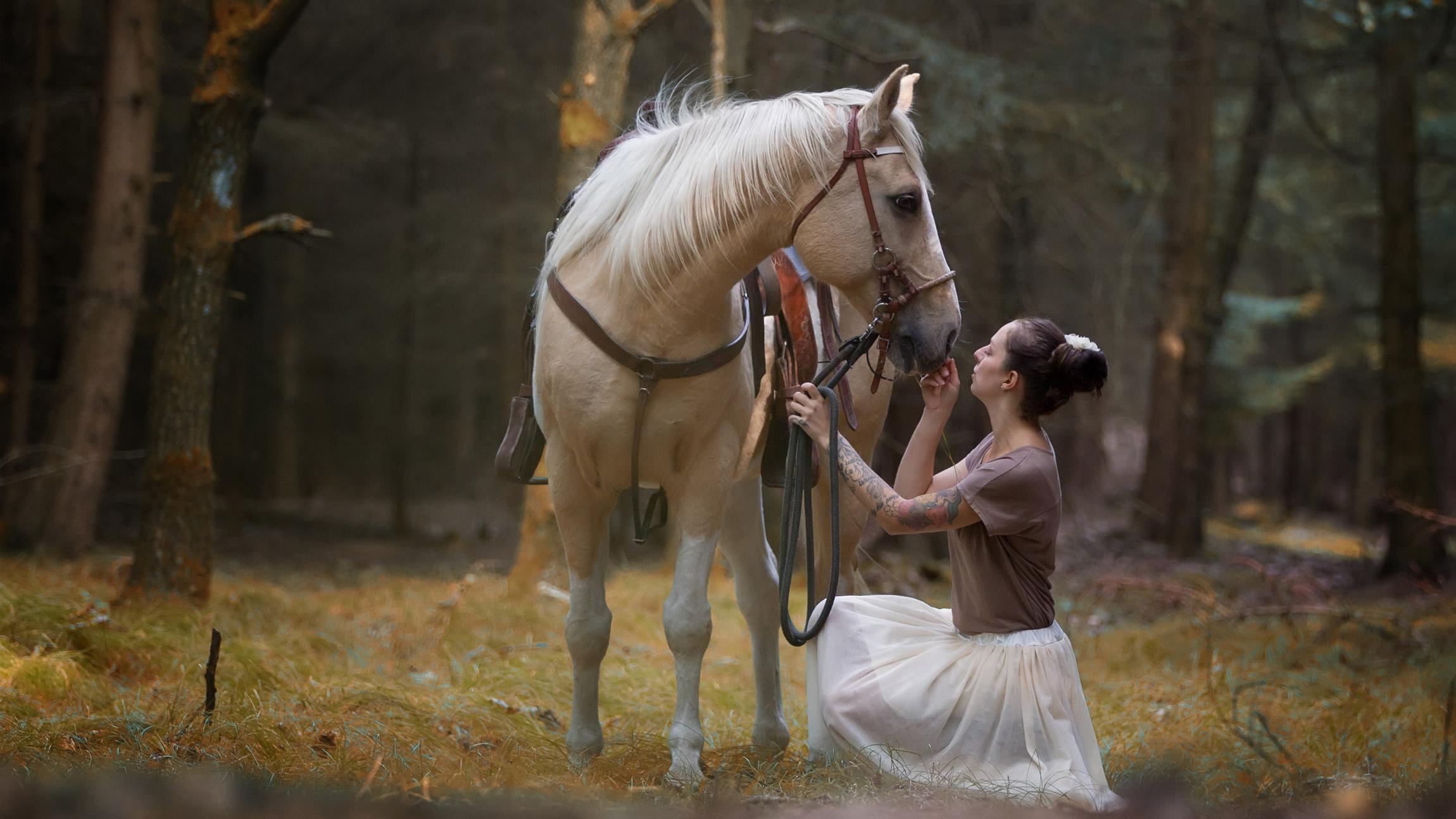 fotografie - lidé a zvířata